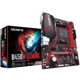 Motherboard GIGABYTE B450M GAMING com chipset AMD B450 para AMD AM4